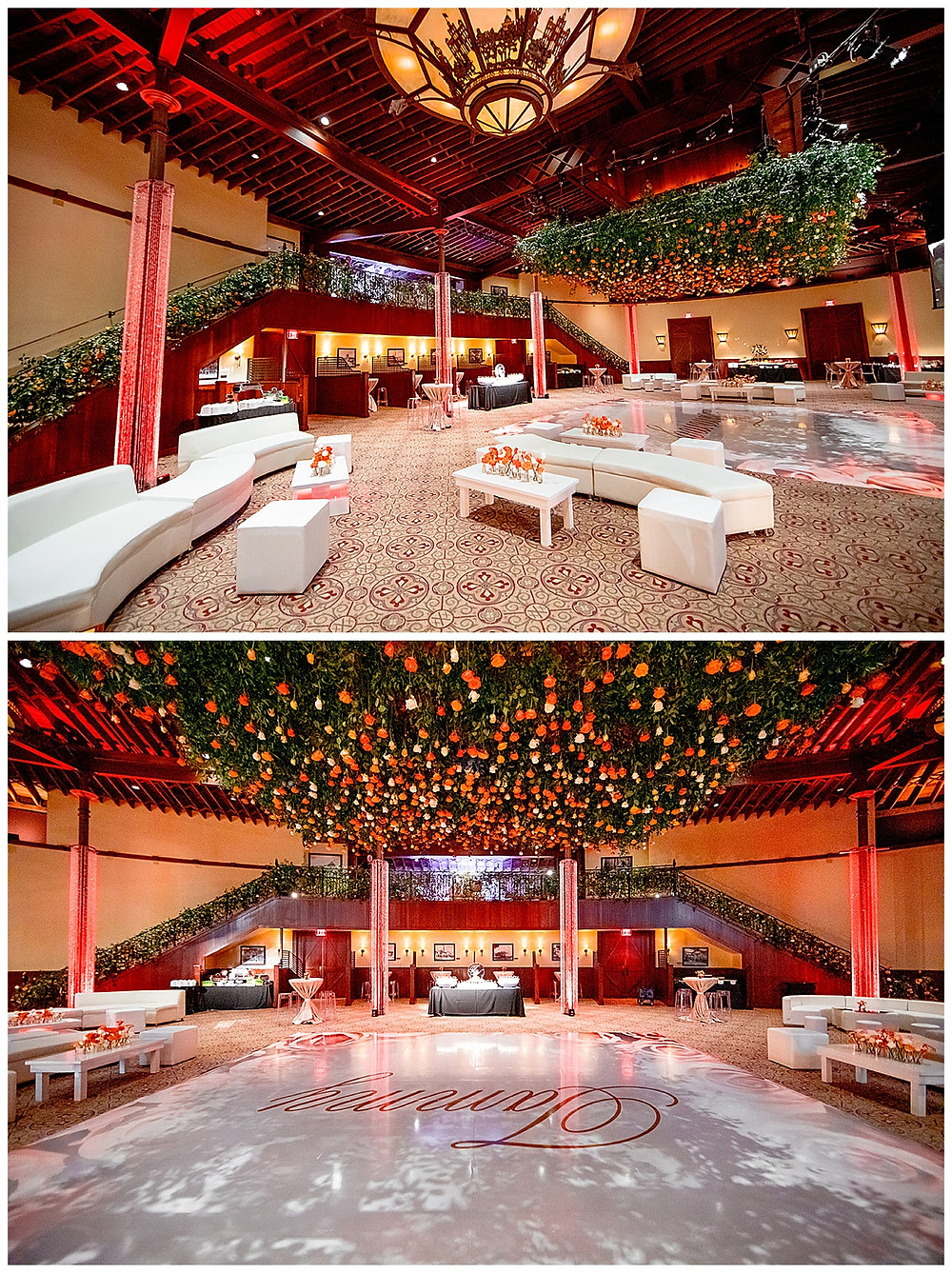 San Antonio Event Planner | Pearl Stable | Milestone Party | Surprise Birthday | Wedding Planner | Confetti Roses | Social Event Planner | Lounge Furniture | Custom Dance Floor | Floral Ceiling