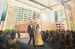 Austin Texas Wedding Painter
