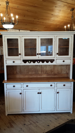 Buffet and Hutch with Wine