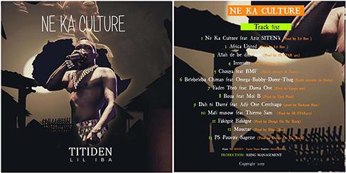 TITIDEN LIL IBA - NE KA CULTURE (ALBUM COMPLET)
