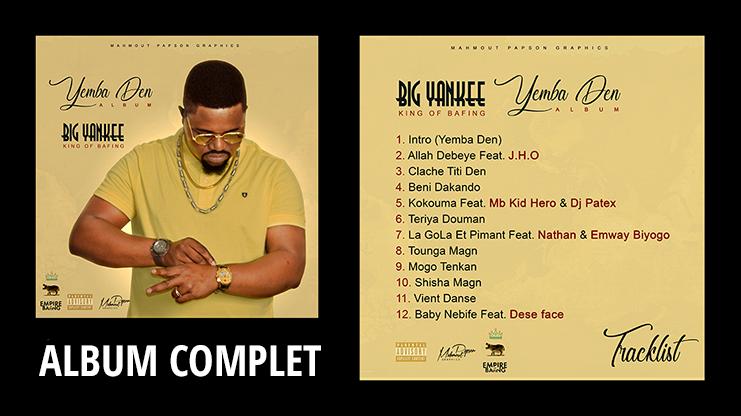 BIG YANKEE - YEMBA DEN (ALBUM 2019)