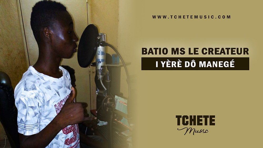 BATIO MS LE CREATEUR - I YERE DON MANEGA