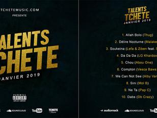 TOP 10 TALENTS TCHETE (JANVIER)
