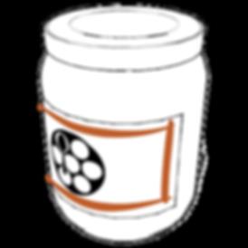 Sesame Jar