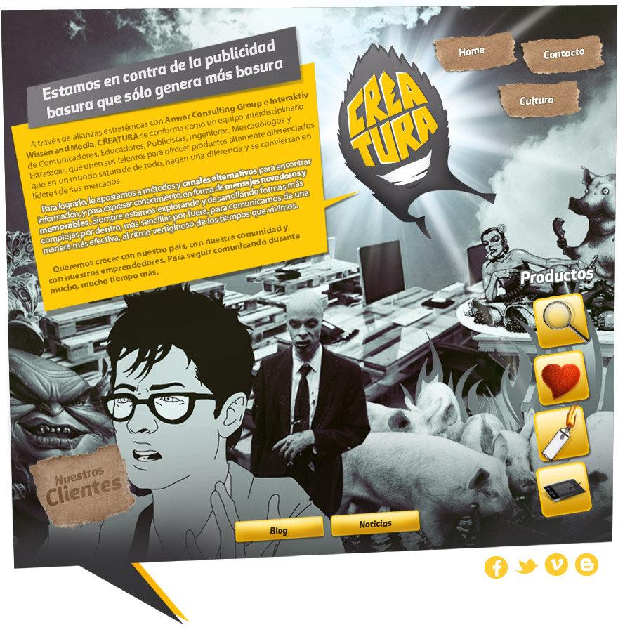 Creatura comunicacio sustentable, desarrollo local,medios digitales