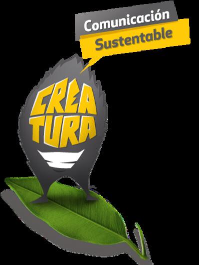 Creatura comunicación sustentable, logotipo, marca