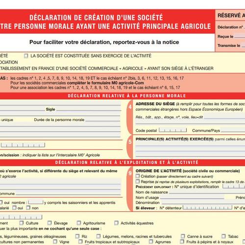 formulaire m0 association