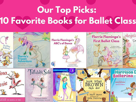 Our 10 Favorite Children's Books for Ballet Class!