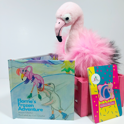 Florrie Flamingo's Frozen Adventure and