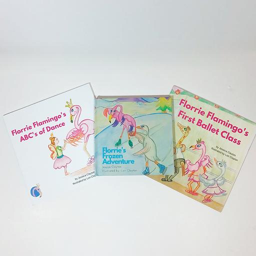 Florrie Flamingo Children's Book Bundle.