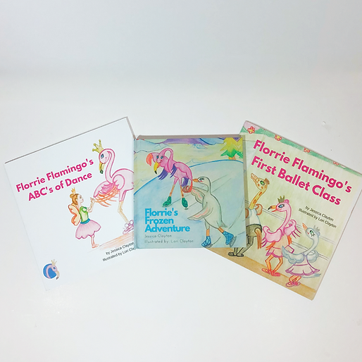 Florrie Flamingo Children's Book Bundle.