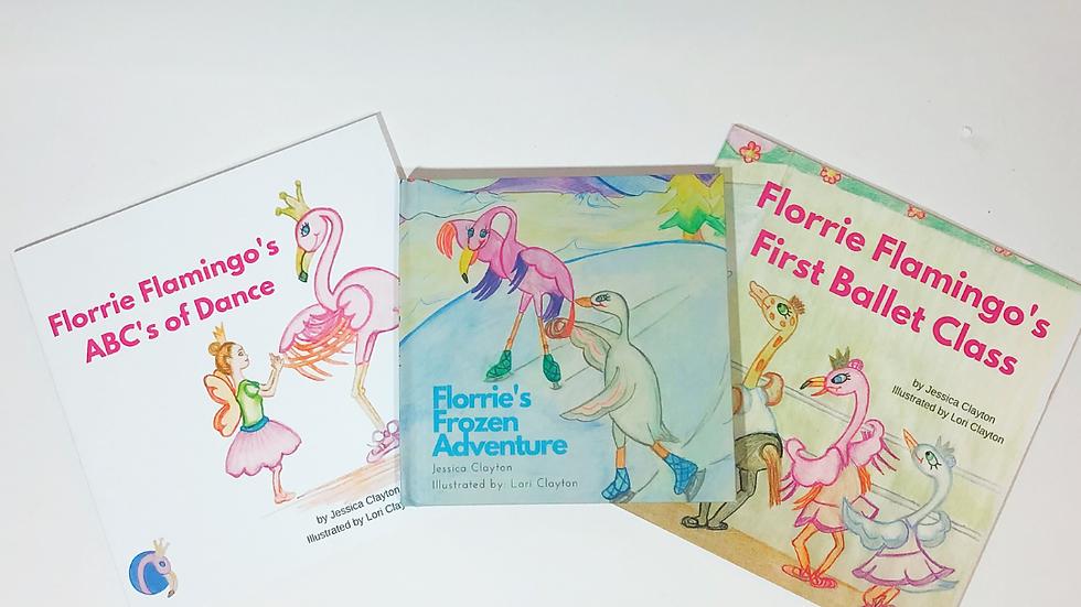 Florrie Flamingo Children's Ballet Book Bundle