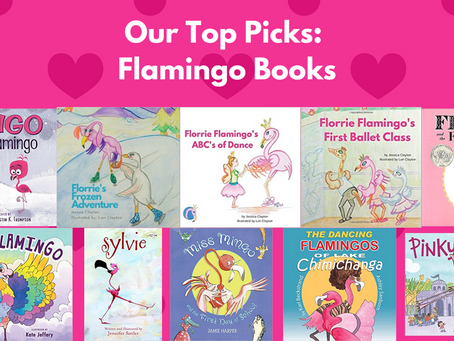 10 Children's Books Featuring Flamingos!