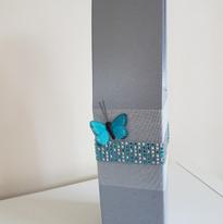 Wine bottle box