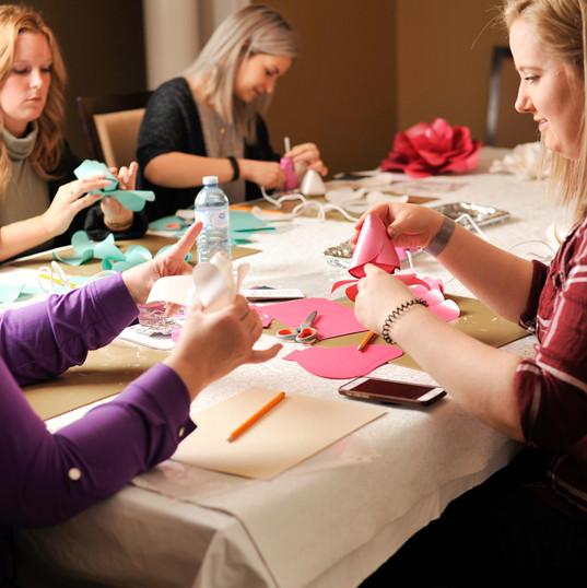 Paper Rose Workshop