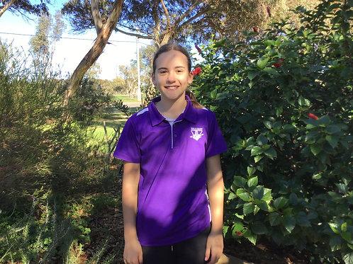 Polo Shirt - Purple