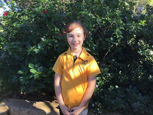 Polo Shirt- Gold