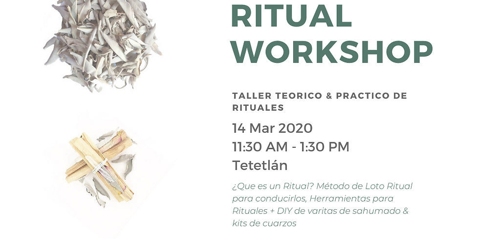 Ritual Workshop CDMX