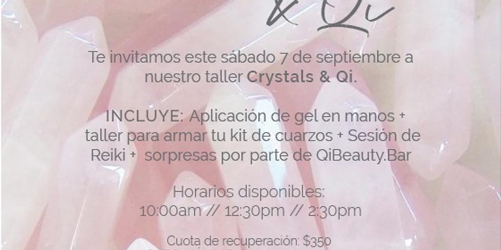 Crystals + Qi