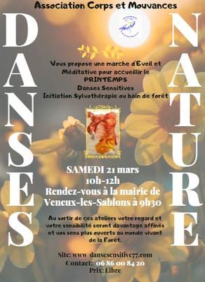 Dimanche  21 Mars-> Atelier Danse Nature