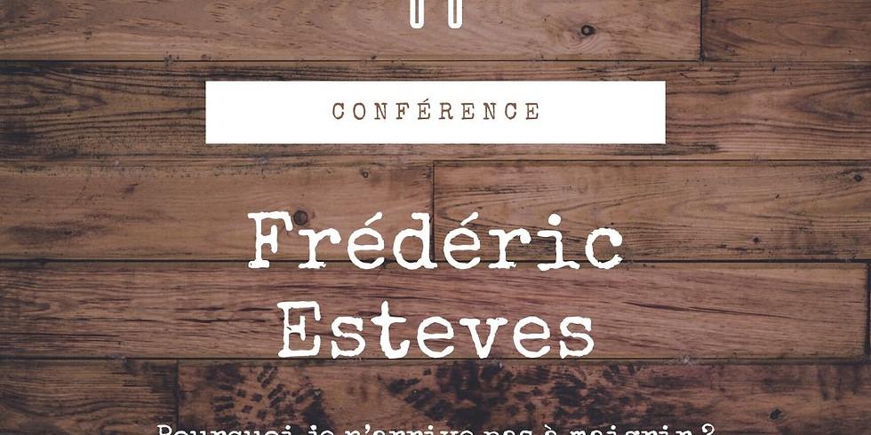 Conférence de Frédéric Esteves / « Pourquoi je n'arrive pas à maigrir ? Trouver son poids de forme »