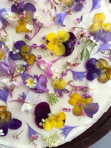 日替わりで色々登場する自家製ケーキ