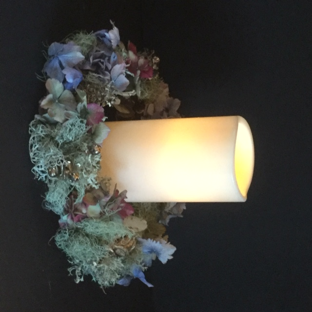 Maggie's candle holder