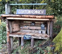 Heather's roadside stall