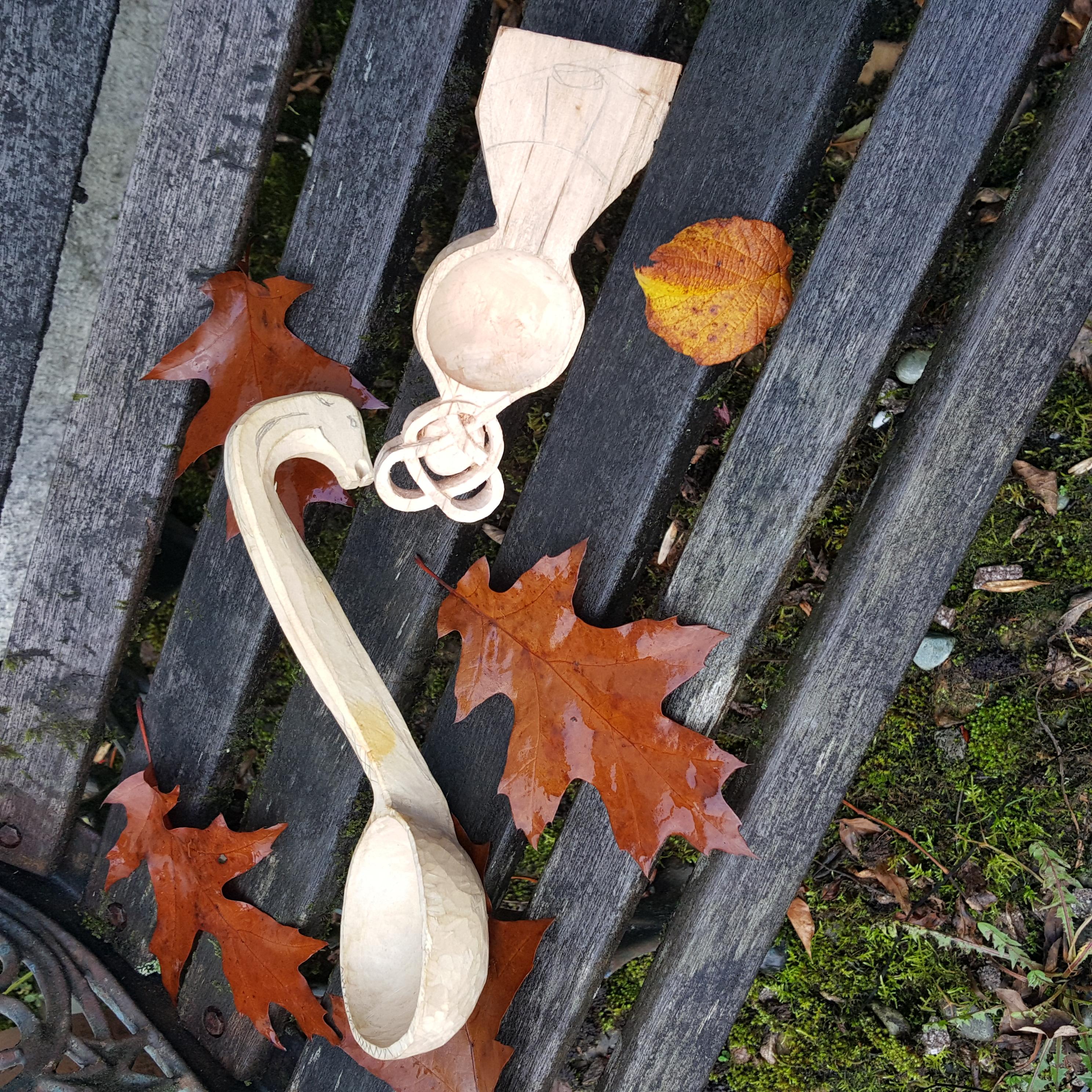 Pete's Wooden ladles