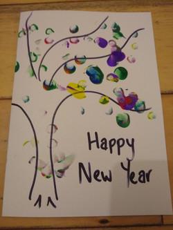 Sam's New Year Card