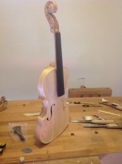 Robert's Violin 1 in the white
