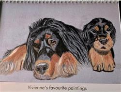 Viv's calendar of favorite paintings