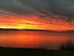 Ian Torrance's photo of sunrise at Inverneill