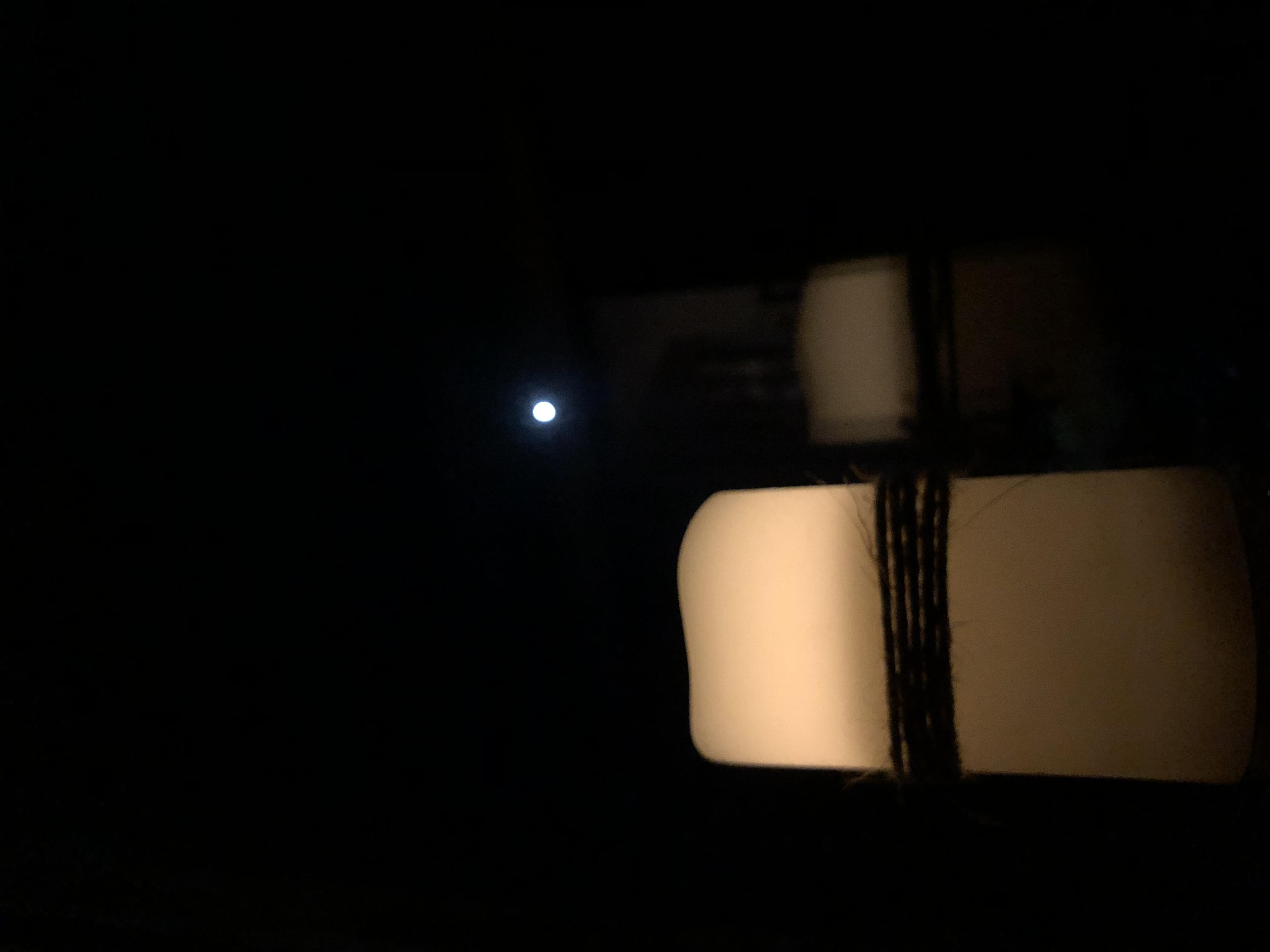 Jennifer - candle in moonlight