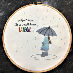 Jan - Without rain there would be no rainbows