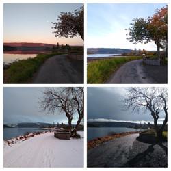 Anna's Four Seasons on Lochgair-Collage