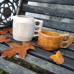 Pete's Wooden cups