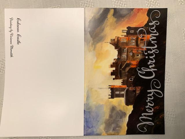 Viv's Greetings card