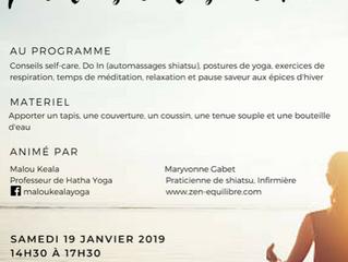 Atelier bien-etre 2019 : L'Escale Le Lion d'Angers (49 Maine et Loire)
