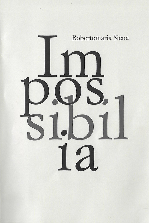 Presentazione libro: Impossibilia