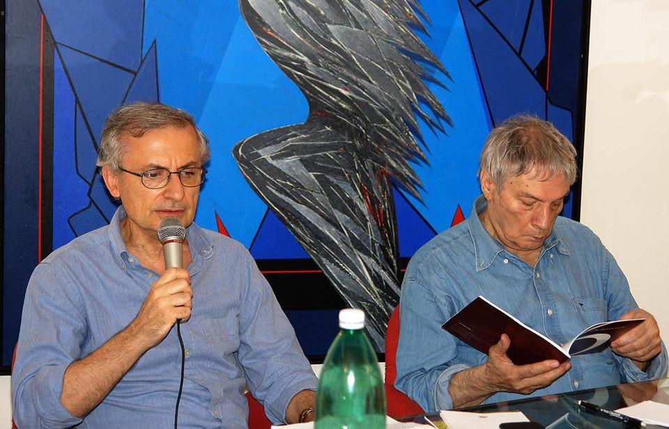 Tavola rotonda. Storico dell'Arte prof. G. Simongini con il M° E. Calabria