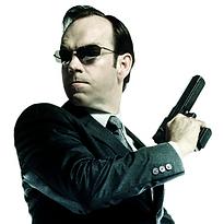The Matrix Agent Smith, The Bad Guy