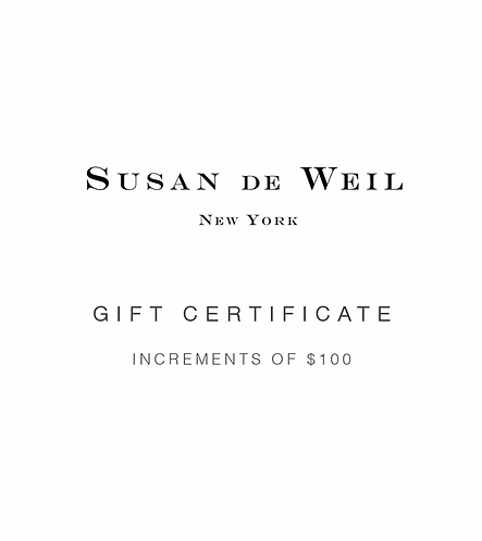 GIFT CERTIFICATE - INCREMENT OF $100