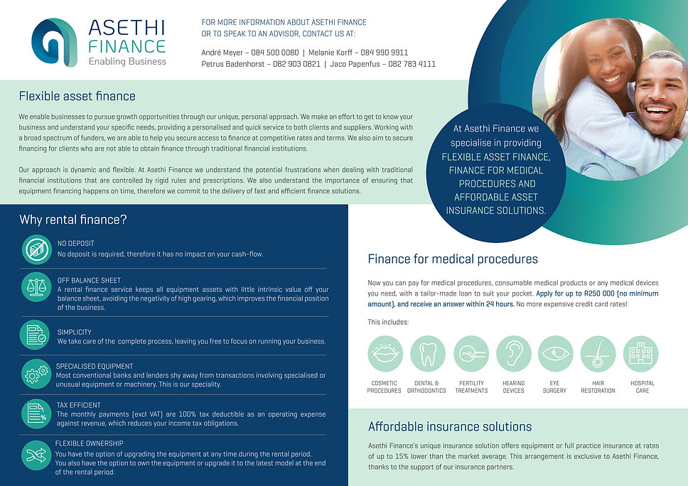 Company brochure Asethi Finance (0000000