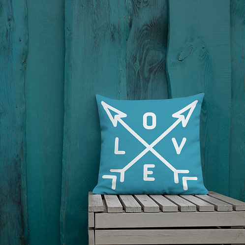 LOVE-ARROWS | All-Over Print Premium Pillow