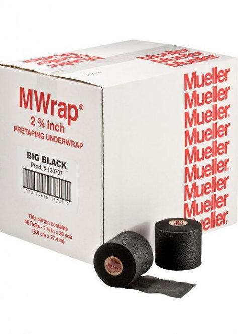 Prevenda Negro M Wrap 7cm x 27m