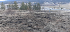Fire at Lochrem Road & Hwy 97 March 2021