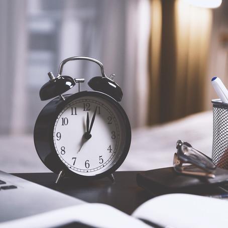 5 tips om (bijna) nooit meer te laat te komen.