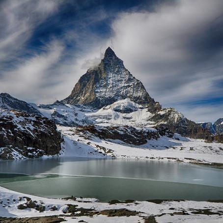 De weg naar de Matterhorn