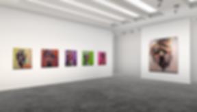 Lift art gallery, virtual exhibition, 3d art show, Carlos Delgado, buy art